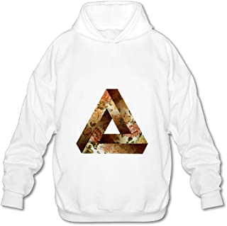 Men's Triangle Of Impossible Figures Penrose Pullover White