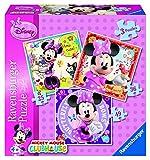 Ravensburger Minnie Mouse - Puzzle, 25-36-49 Piezas 07244 6