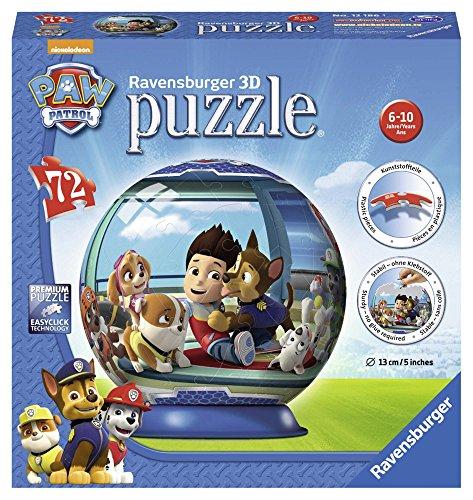 Ravensburger Kinderpuzzle 12186 Paw Patrol puzzleball