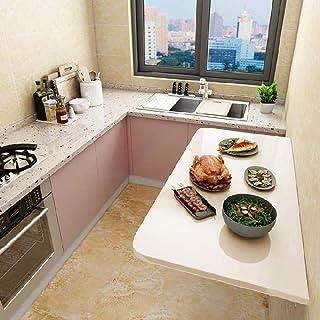 CCEKD Murale Bureau D'ordinateur Rabattable Table De Cuisine Multifonctions Table Murale Rabattable Pliable Table De Salle...