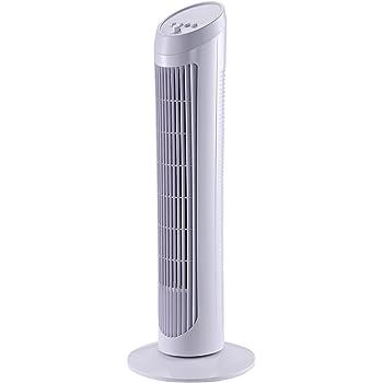 HOMCOM Ventilador de Torre con Control Remoto Tower Fan