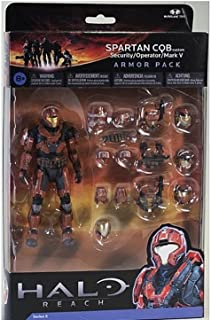 Halo Reach Series 5 6 Inch Scale Spartan CQB Custom & 3 Sets Of Armor