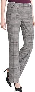 Calvin Klein Women's Glen Plaid Modern Ankle Pants