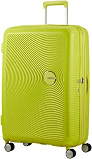 American Tourister - Soundbox Spinner Extensible, 55cm, 35,5/41 L - 2,6 KG, Vert (Tropical Lime)