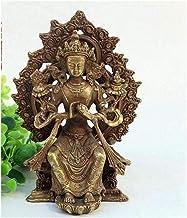 PPCP Chinese Buddha Sculpture Home Decoration 411 Namo Avalokiteshvara Peace Method Copper Willow Guanyin