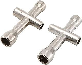 5.5 Jiobapiongxin 2 Pezzi Chiave Esagonale Chiave a Croce Esagonale 4//5 Argento JBP-X 7mm per M4 HSP Redcat Giocattoli Accessori per Strumento Ruota Modello di Auto RC