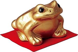 【信楽焼 置物】金運蛙(大)