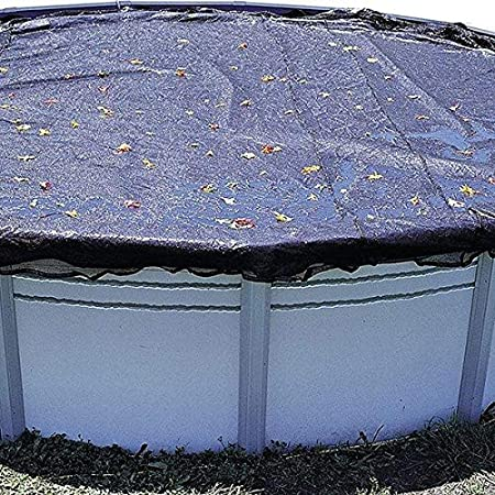 in The Swim 18 ft Round Above Ground Pool Leaf Net Cover