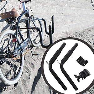 TOOGOO Estante De Bicicleta Tabla De Surf Portador De Surf De Bicicleta Montar A Los Postes del Asiento