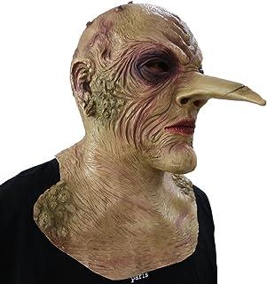 LANGNASE Maske aus Schaumlatex Fasching Karneval Party