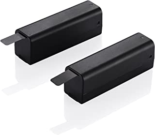 Powerextra 2 Pack Intelligent Li-Po Battery Pack 11.1V 980mAh for DJI Osmo, Osmo+ Handheld 4K Gimbal and OSMO Mobile - Compatible with Osmo Intelligent Battery Charger SOY015A-1260120