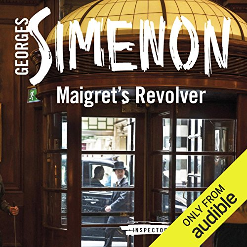 Maigret's Revolver audiobook cover art