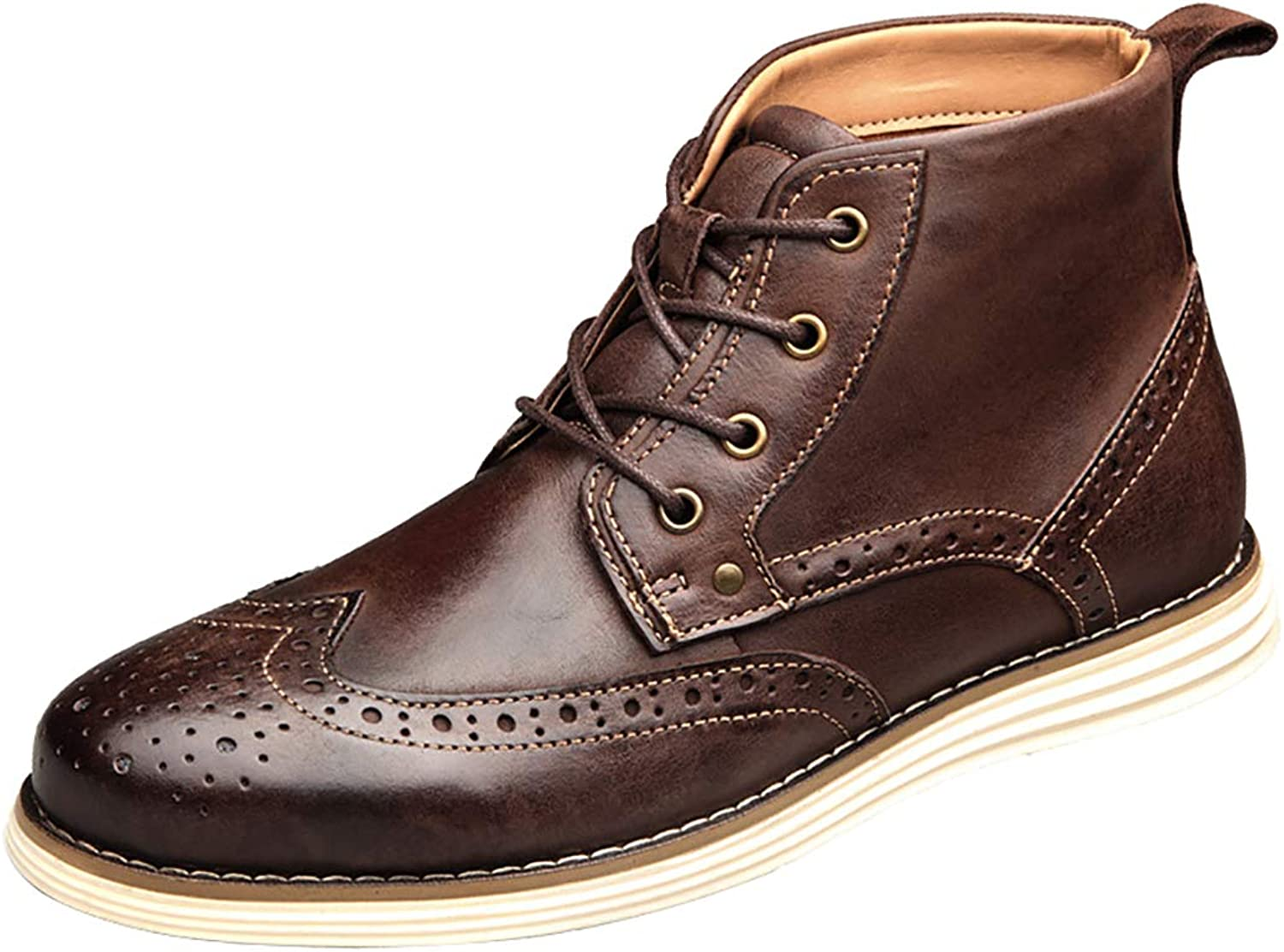 Men's Brogues Boot Casual High-top Leather Boots Martin boots Lace-Up Work & Safety shoes Dr Martens Unisex Adults' Boots