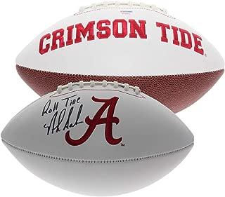 Nick Saban Autographed Signed Alabama Crimson Tide White Panel Football - Roll Tide - PSA/DNA Authentic