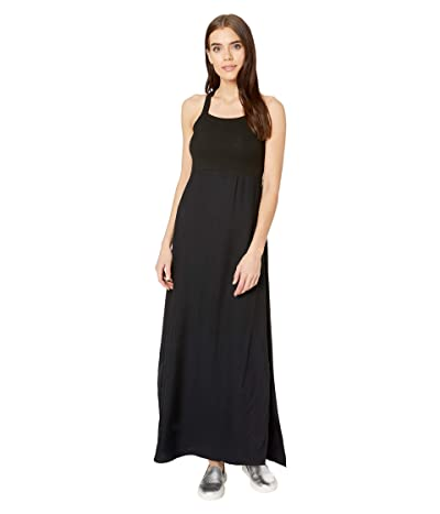 Hurley Mixup Maxi Dress (Black) Women