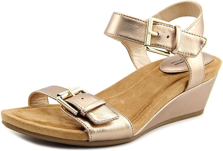 Giani Bernini Womens Bryana Open Toe Casual Platform Sandals, gold, Size 12.0