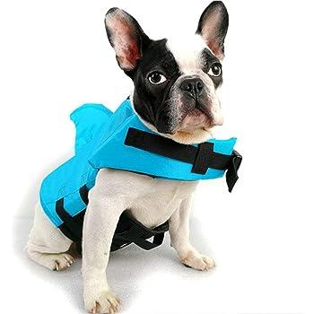 Markcur Reflektierende Schwimmweste f/ür Hunde Outdoor Kleidung f/ür kleine mittel gro/ße Hunde Rettungswesten Schutzkleidung Hundetraininganzug Schwimmweste