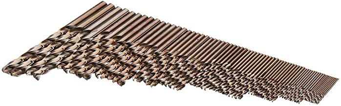 Veilig 74pcs 1-8mm Twist Drill Bits M35 Kobalt HSS boor Set Whole Ground Metal opruimwerktuig Drill Comfortabel