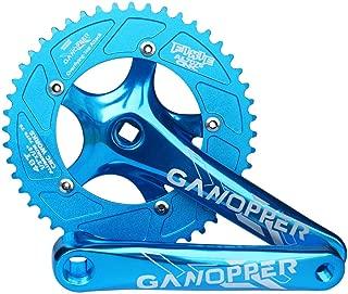 GANOPPER 48T Single Speed Road Bike Crankset 130BCD 175mm Crank Arm 4 Color Available