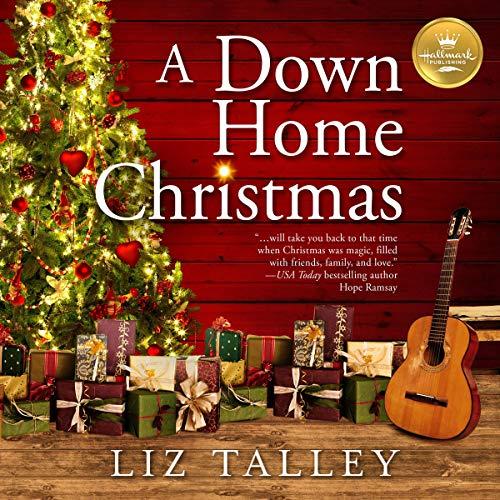 A Down Home Christmas audiobook cover art
