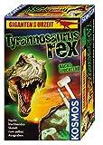 KOSMOS 630409 Nachtleuchtender T-Rex Ausgrabungsset, Tyrannosaurus rex Skelett zum selbst Ausgraben, Experimentierset zu Archäologie, Urzeit, Dino, Mitbringexperiment, für Kinder ab 7 Jahre