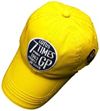 Team Lotus F1 Formula One 1 Vintage 7 Times Winners 1963 Yellow LMAS19 Cap