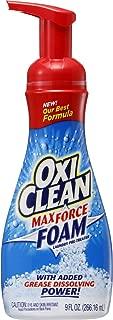 オキシクリーン マックスフォース 洗濯用洗剤 泡タイプ 266mL