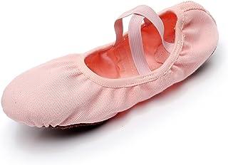 8fffde62 DoGeek Ballet de Danza Baile Transpirable Zapatos de Ballet Zapatillas Yoga  para Niña Mujer