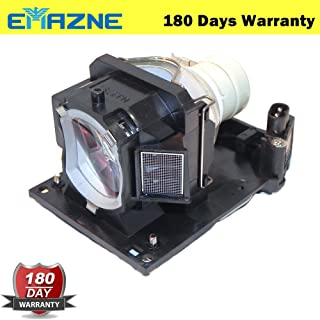 Emazne DT01481 Projector Replacement Compatible Lamp with Housing for Hitachi CP-EW301N, CP-EW302N, CP-EX251N, CP-EX301N, CP-EX401, CP-EX402, CP-WX3041WN, CP-WX3042WN 180 Day Warranty