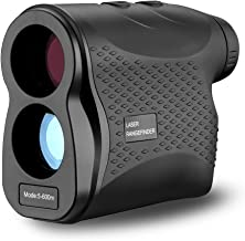 $74 » DEKO Laser Rangefinder,6X Magnification 656 Yards Waterproof Laser Range finder for Hunting and Golf with Accurate Range Scan, Slope, Pinseeker, Fog, Speed and Distance Measure