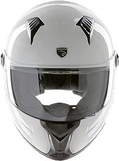 Panthera casco de moto integral Racer blanco brillante talla XS