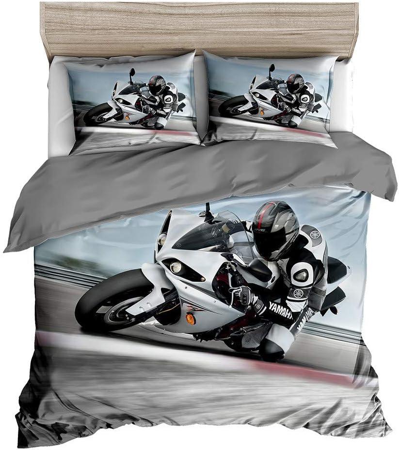 Abojoy store 3D Racing Motorcycle Dirt Manufacturer OFFicial shop Duvet Sports Cover Xtreme Bike