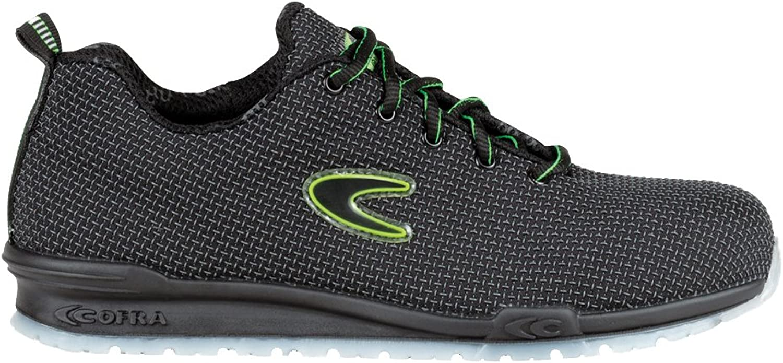 Cofra 78802-000.W36 Work shoes,  Monti , Size 3.5, Black - EN safety certified