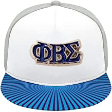 Phi Beta Sigma Fraternity Floral Print Baseball Cap Adjustable 100% Cotton Canvas Dad Hat Hats for Women