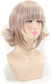 Hairpieces Synthetic WigsWoman Adult Wigs Halloween Anime Game Hair high Temperature Fiber Hair Hair Extensions (Stretched...
