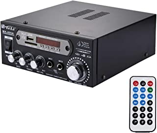 WZY MA-005A 2CH 35W+35W HiFi Stereo Audio Amplifier with Remote Control, Support FM/SD / MP3 Player/USB/Display, AC 220V /...