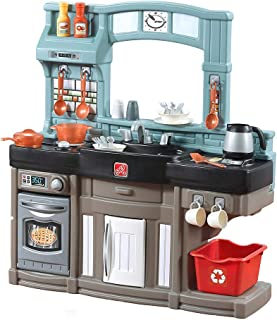 Best Step2 Best Chefs Kitchen Playset | Kids Play Kitchen with 25-Pc Toy Accessories Set, Real Lights & Sounds, Multicolor Review