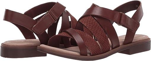 Mahogany Leather/Nubuck Combi