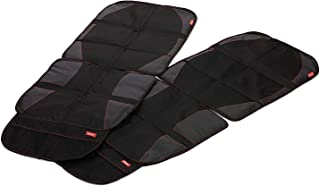 Diono Two2Go Ultra Mat Car Seat Protector, Black (2-Pack)