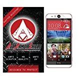 Ace Armor Shield Shatter Resistant Screen Protector for the HTC Desire Eye / Military Grade / High Definition / Maximum Screen Coverage / Supreme Touch Sensitivity /Dry or Wet Easy Installation with free lifetime replacement warranty