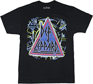 Seven Times Six Def Leppard Mens' 30th Anniversary Album Cover T-Shirt