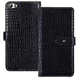 YLYT Magnético Cover Negro De Cuero Funda para Elephone S7 5.5 Inch Étui Ranuras para Tarjetas Cáscara Protección Caso