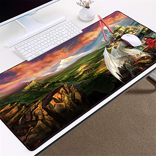 Mouse Pad Juego Mouse Pad Bloqueo Borde Mouse Pad Velocidad