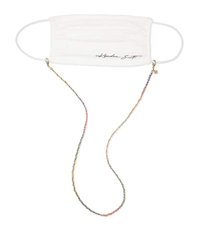Kendra Scott Charlie Corded Mask Chain (Gold Cool Mix) Necklace