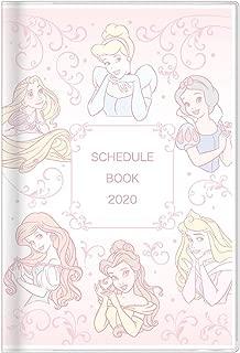 サンスター文具 ディズニー 手帳 2020年 B7 マンスリー プリンセス S2950324 2019年 10月始まり
