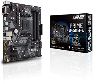 PRIME B450M-A placa base Zócalo AM4 Micro ATX AMD B450