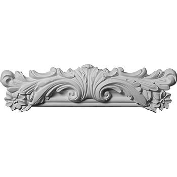 4-Pack , Ekena Millwork PML10X10PM-2-CASE-4 10 1//2 inch W x 10 1//2 inch H Pompeii Panel Moulding Corner