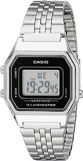 Casio Women's Digital Dial Stainless Steel Band Watch - LA680WA-1