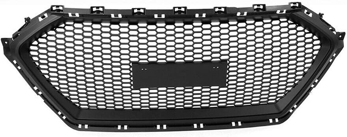 NLXTXQC New product Front Bumper Mesh Grille Plastic Grill Middle ABS Max 54% OFF Cover
