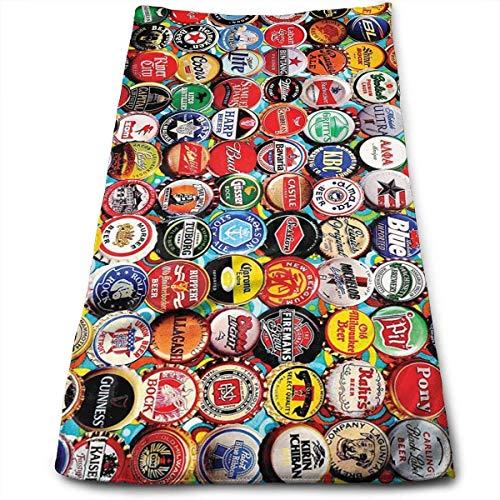 Tapas de Botellas de Cerveza Toalla de Microfibra Súper Absorbente y de Secado rápido Toalla Deportiva Toalla de Viaje Toalla de Playa